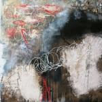 80x60cm,mixed media on canvas,(2013)